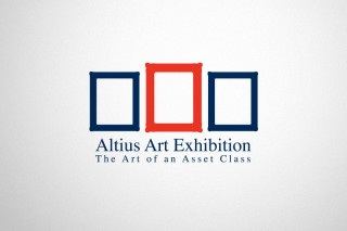 Logo design for the Altius Art Exhibition