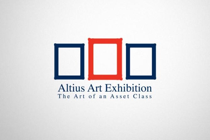 Logo design for the Altius Art Exhibition