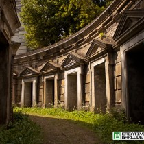 Highgate cemetery doorways