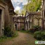 Highgate cemetery street